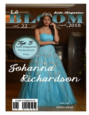 Le Bloom Kids Magazine Johanna Richardson