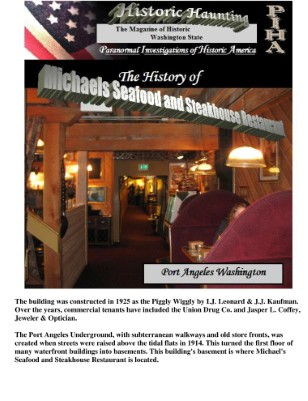 Michaels Seafood and Steakhouse Restaurant in Port Angeles Washington