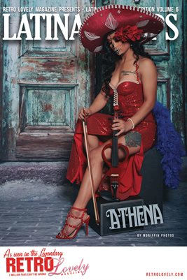 Latina Pinups Special Edition Vol.6 – Athena Cover Poster