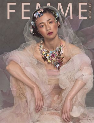 Femme Rebelle Magazine February 2019 BOOK 1 - Alison McMath Cover