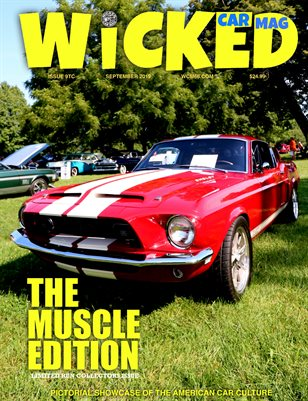WICKED CAR MAG 68 MUSTANG