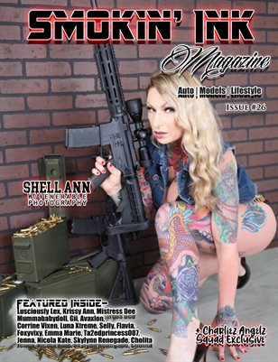 Smokin' Ink Magazine Issue #26 - Shell Ann