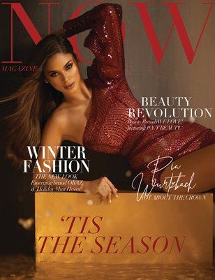 NOW Magazine December Issue Pia Wurtzbach