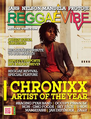 Reggae Vibe Magazine Summer Issue 2014