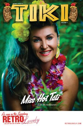 TIKI Volume 7 - Miss Hot Tati Cover Poster