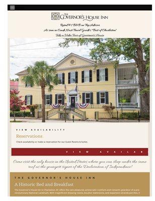 Romantic Getaway in Charleston