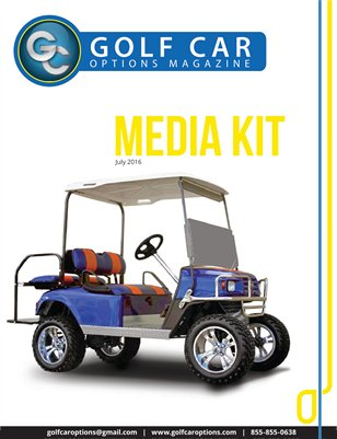 Golf Car Options Magazine Media Kit