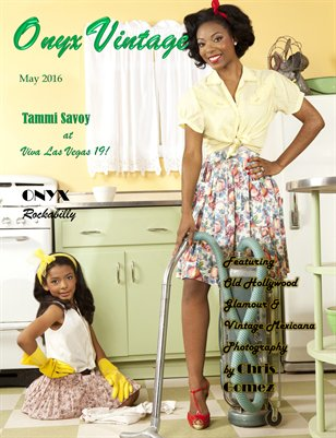 Onyx Vintage Magazine Issue 2 (May 2016)