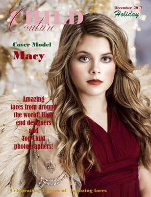 Child Couture magazine Holiday 2017