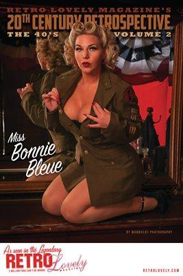 20th Century Retrospective – The 40's - Miss Bonnie Bleue Cover Poster