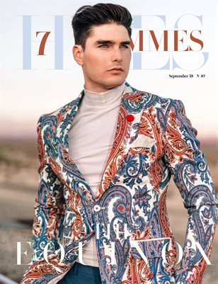 7Hues Hommes N'10 - September 2018