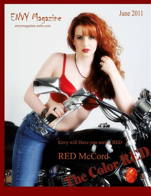 "Envy Magazine June 2011 ""Red"""