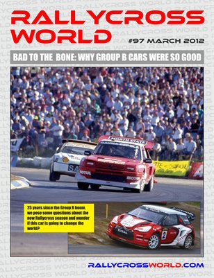 Rallycross World #97, March 2012