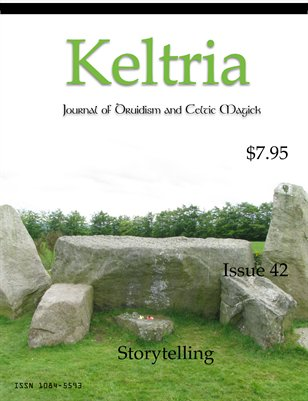 Cover of Keltria Journal #42 - Storytelling