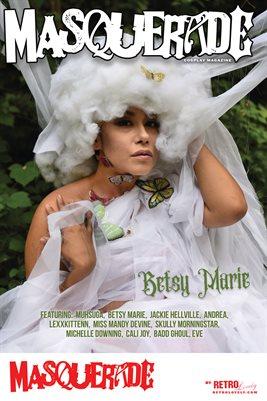 Masquerade No.11 – Betsy Marie Cover Poster