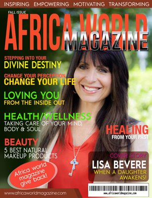 AFRICA WORLD MAGAZINE- FALL ISSUE 2015