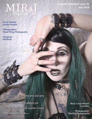 MIRaJ Magazine - Lingerie & Boudoir Issue #2 -Aradia cover