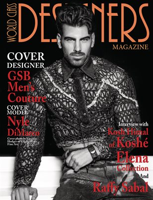 World Class Designers Magazine with GSB Mens Couture