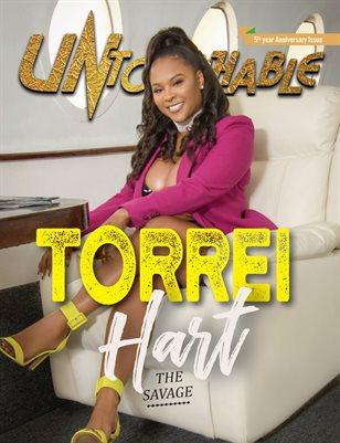 Untouchable Magazine: 5th Year Anniversary issue- Torrei Hart