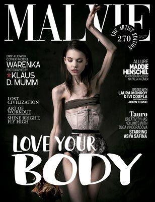 MALVIE Magazine The Artist Edition Vol 270 August 2021