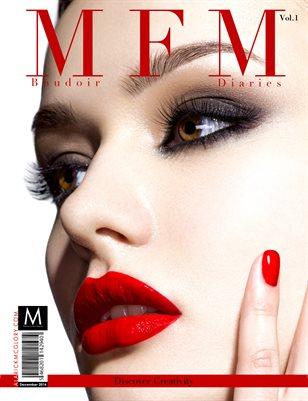 McGlory Fashion Magazine Boudoir diaries Dec Vol 1