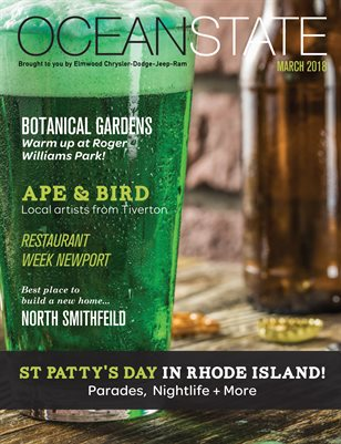Ocean State Magazine March 2018 brought to you by Elmwood CDJR