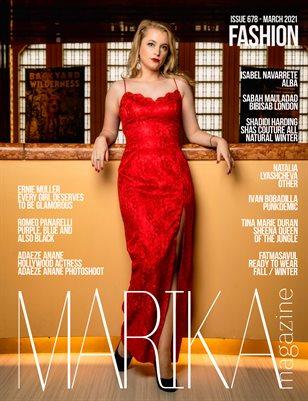 MARIKA MAGAZINE FASHION (ISSUE 678 - MARCH)