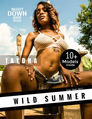 Wild Summer (September Issue) Taydra Cover