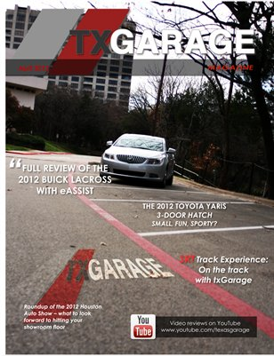 txGarage Magazine April 2012