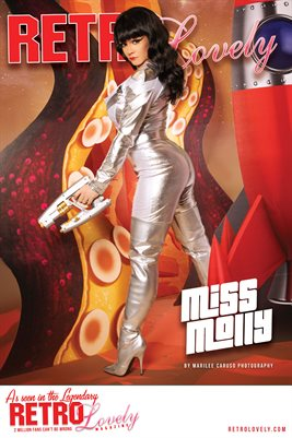 Miss Molly RL143 Cover Poster