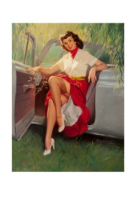 Pinup Girl Classic-Nice Day for a Drive
