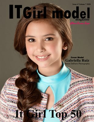 It Girl Model Magazine Issue 4 Volume 7 2020 Top 50