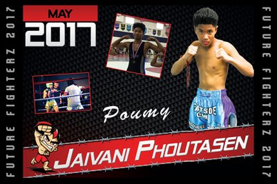 Jaivani Phoutasen Cal Poster 2017