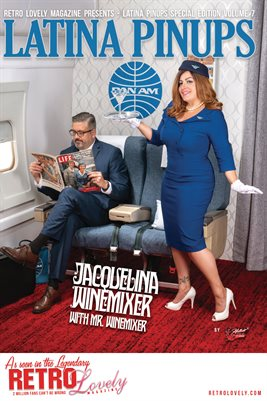 Latina Pinups Special Edition Vol.7 – Jacquelina Winemixer & Mr. Winemixer Cover Poster