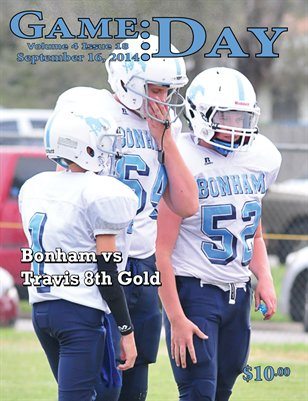 Volume 4 Issue 19 - Bonham vs Travis 8th Gold