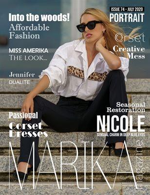 MARIKA MAGAZINE PORTRAIT (July - issue 74)