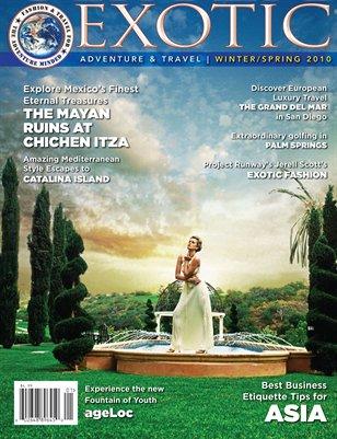 EXOTIC Adventure & Travel Magazine Winter 2010