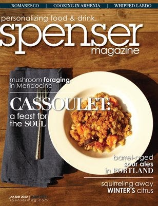spenser magazine: issue two (jan.feb 2012)