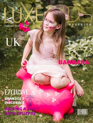 FEBRUARY LUXE KID COVER MODEL BARBARA-UK