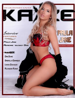 Kayze Magazine issue 14 (PAULA JANE)