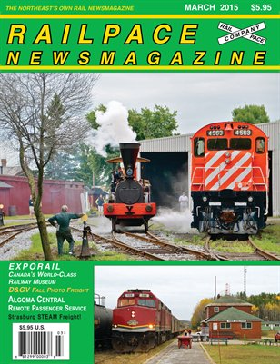 MARCH 2015 Railpace Newsmagazine