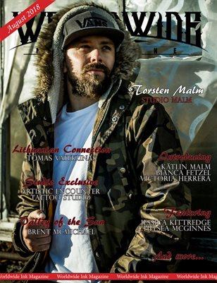 Worldwide Ink: August 2018 Issue