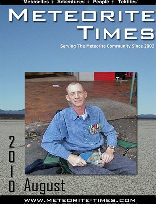 Meteorite Times Magazine - August 2010
