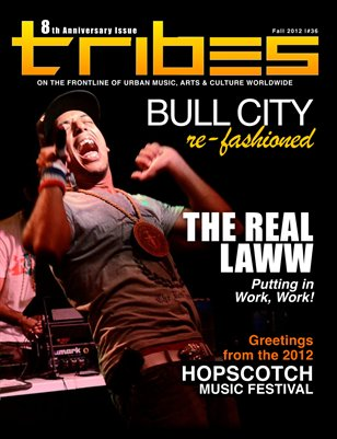 TRIBES MAGAZINE - FALL 2012 - 8th Anniversary Issue #36