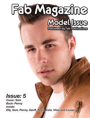 Fab Magazine Model Issue 5