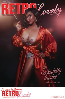 The Rockabilly Barbie - Chocolate Cheesecake Cover Poster