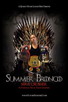 Summer Bronco Game of Thrones - Poster