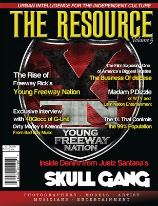 Freeway Rick Ross: The Resource Magazine Vol. 5