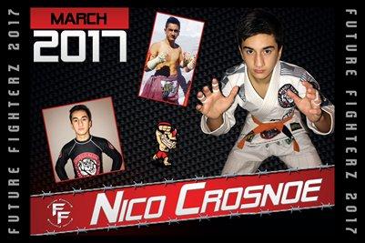 Nico Crosnoe Cal Poster 2017