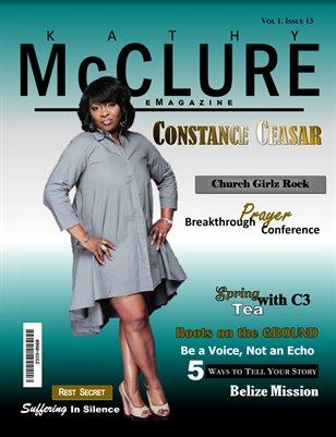 KMeMagazine Featuring Constance Ceasar